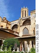 Купить «Cathedral in Aix-en-Provence in Southern France», фото № 30389189, снято 22 июня 2018 г. (c) Anton Eine / Фотобанк Лори