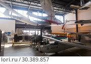 Купить «Aeronautical Cultural Centre on Barcelona-El Prat Airport», фото № 30389857, снято 23 февраля 2019 г. (c) Яков Филимонов / Фотобанк Лори