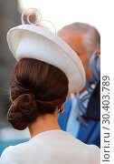 Купить «The Duke and Duchess of Cambridge, accompanied by the the King and Queen of Belgium, attend the Last Post Ceremony at the Menin Gate during Passchendaele...», фото № 30403789, снято 30 июля 2017 г. (c) age Fotostock / Фотобанк Лори