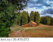Купить «An Old Barn, Panoramic Color Image», фото № 30410073, снято 14 ноября 2015 г. (c) easy Fotostock / Фотобанк Лори