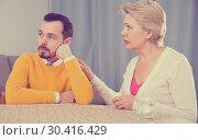 Купить «Mother and son arguing», фото № 30416429, снято 25 мая 2019 г. (c) Яков Филимонов / Фотобанк Лори