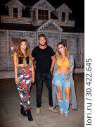 Купить «Celebrities get dolled up for a night of fright at the 'Annabelle: Creation' haunted house experience to promote the cinema release of 'Annabelle: Creation...», фото № 30422645, снято 25 июля 2017 г. (c) age Fotostock / Фотобанк Лори