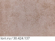 Купить «Beige uneven wall background and texture», фото № 30424137, снято 7 ноября 2018 г. (c) Акиньшин Владимир / Фотобанк Лори