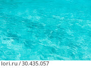 Купить «blue water in pool, sea or ocean», фото № 30435057, снято 14 февраля 2013 г. (c) Syda Productions / Фотобанк Лори