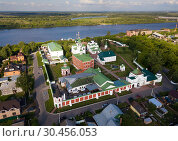 Купить «View of Spaso-Preobrazhensky monastery near river in Murom», фото № 30456053, снято 13 июня 2018 г. (c) Яков Филимонов / Фотобанк Лори