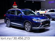 Купить «Mitsubishi Outlander», фото № 30456213, снято 10 марта 2019 г. (c) Art Konovalov / Фотобанк Лори