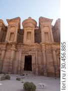 Купить «The Monastary, Petra, Jordan.», фото № 30456885, снято 7 сентября 2018 г. (c) age Fotostock / Фотобанк Лори