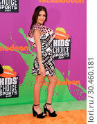 Nickelodeon's Kids' Choice Sports Awards 2017 held at UCLA's Pauley... Редакционное фото, фотограф Adriana M. Barraza / WENN.com / age Fotostock / Фотобанк Лори