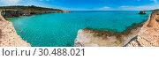 Купить «Sea beach Spiaggia della Punticeddha, Salento, Italy», фото № 30488021, снято 5 августа 2020 г. (c) Юрий Брыкайло / Фотобанк Лори