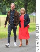 Various celebrities seen at ITV Summer Party 2017. Редакционное фото, фотограф WENN.com / age Fotostock / Фотобанк Лори