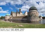 Купить «Vadstena Castle, Sweden», фото № 30499297, снято 25 августа 2013 г. (c) Михаил Марковский / Фотобанк Лори