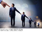 Купить «Businessmen blaming each other for failures», фото № 30507029, снято 18 июля 2019 г. (c) Elnur / Фотобанк Лори