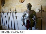 Royal artillery school museum in the Alcazar of Segovia, Castilla Leon, Spain. Стоковое фото, фотограф Pedro Salaverría / age Fotostock / Фотобанк Лори