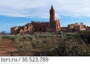 Купить «Ruins of Belchite», фото № 30523789, снято 9 марта 2019 г. (c) Яков Филимонов / Фотобанк Лори