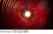 Купить «Abstract conceptual background with futuristic high tech wormhole tunnel», видеоролик № 30523885, снято 8 апреля 2009 г. (c) Куликов Константин / Фотобанк Лори