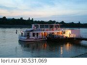 Купить «Tourist boat», фото № 30531069, снято 3 июня 2008 г. (c) Tryapitsyn Sergiy / Фотобанк Лори