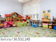Игровая комната в детском саду. Стоковое фото, фотограф Светлана Голинкевич / Фотобанк Лори