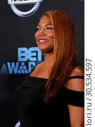 Купить «BET Awards 2017 at the Microsoft Theater on June 25, 2017 in Los Angeles, CA Featuring: Queen Latifah Where: Los Angeles, California, United States When: 25 Jun 2017 Credit: Nicky Nelson/WENN.com», фото № 30534597, снято 25 июня 2017 г. (c) age Fotostock / Фотобанк Лори