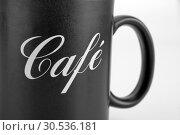 Купить «Black cup of coffee», фото № 30536181, снято 21 января 2011 г. (c) Tryapitsyn Sergiy / Фотобанк Лори