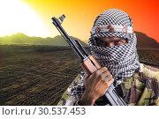 Купить «Serious middle eastern man», фото № 30537453, снято 1 июля 2011 г. (c) Tryapitsyn Sergiy / Фотобанк Лори