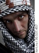 Купить «Serious middle eastern man looking to you», фото № 30537457, снято 1 июля 2011 г. (c) Tryapitsyn Sergiy / Фотобанк Лори