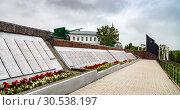 Купить «Мемориал павшим в Великой Отечественной войне. Елабуга», фото № 30538197, снято 6 июля 2017 г. (c) Ольга Сейфутдинова / Фотобанк Лори