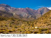 Купить «Andes near Las Lenas», фото № 30538561, снято 9 февраля 2017 г. (c) Яков Филимонов / Фотобанк Лори