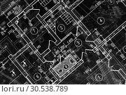 Купить «Architectural project», фото № 30538789, снято 25 мая 2012 г. (c) Tryapitsyn Sergiy / Фотобанк Лори