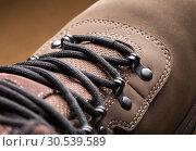 Купить «Hiking boot», фото № 30539589, снято 14 марта 2013 г. (c) Tryapitsyn Sergiy / Фотобанк Лори