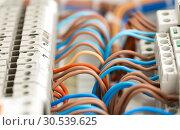 Electrical wires. Стоковое фото, фотограф Tryapitsyn Sergiy / Фотобанк Лори