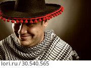 Купить «Cowboy mexican», фото № 30540565, снято 19 сентября 2013 г. (c) Tryapitsyn Sergiy / Фотобанк Лори
