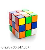 Купить «Rubik's Cube», фото № 30547337, снято 4 декабря 2013 г. (c) Tryapitsyn Sergiy / Фотобанк Лори