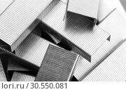 Heap of staples. Стоковое фото, фотограф Tryapitsyn Sergiy / Фотобанк Лори