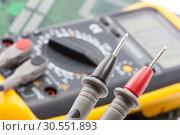 Купить «Multimetr working», фото № 30551893, снято 23 июня 2011 г. (c) Tryapitsyn Sergiy / Фотобанк Лори