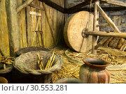 Купить «Equipment in the shed», фото № 30553281, снято 22 июля 2015 г. (c) Tryapitsyn Sergiy / Фотобанк Лори