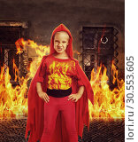 Купить «Angry girl in costume», фото № 30553605, снято 8 августа 2015 г. (c) Tryapitsyn Sergiy / Фотобанк Лори