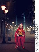 Купить «Little girl in costume», фото № 30553609, снято 8 августа 2015 г. (c) Tryapitsyn Sergiy / Фотобанк Лори