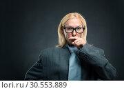 Strong clever woman. Стоковое фото, фотограф Tryapitsyn Sergiy / Фотобанк Лори