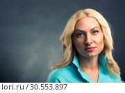 Beautiful woman portrait. Стоковое фото, фотограф Tryapitsyn Sergiy / Фотобанк Лори