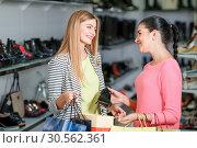 Купить «Women shopping», фото № 30562361, снято 9 сентября 2016 г. (c) Tryapitsyn Sergiy / Фотобанк Лори