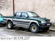 Купить «Mitsubishi L200», фото № 30578237, снято 14 марта 2019 г. (c) Art Konovalov / Фотобанк Лори