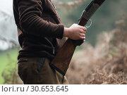 Pheasant shooting. Стоковое фото, агентство Ingram Publishing / Фотобанк Лори