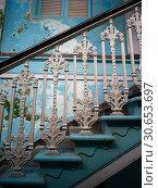 Купить «Staircase of Knesset Eliyahoo Synagogue, Colaba, Mumbai, Maharashtra, India», фото № 30653697, снято 22 октября 2019 г. (c) Ingram Publishing / Фотобанк Лори