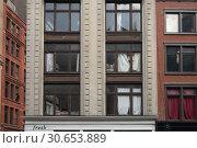 Купить «Windows of apartment building, New York City, New York State, USA», фото № 30653889, снято 26 апреля 2016 г. (c) Ingram Publishing / Фотобанк Лори