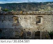 Купить «Ruins of Kotor Fortress, Kotor, Bay of Kotor, Montenegro», фото № 30654581, снято 22 мая 2019 г. (c) Ingram Publishing / Фотобанк Лори