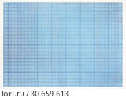 Sheet of engineering graph grid paper. Simple background texture for template, design or art. Стоковое фото, фотограф bashta / Фотобанк Лори