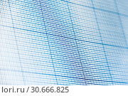 Купить «Sheet of engineering graph grid paper. Simple background texture for template, design or art.», фото № 30666825, снято 26 апреля 2019 г. (c) bashta / Фотобанк Лори
