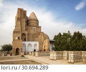 Купить «Mausoleum Complex Dorus-Saodat, Shakhrisabz, Uzbekistan», фото № 30694289, снято 16 октября 2016 г. (c) Юлия Бабкина / Фотобанк Лори