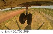Купить «Mi 26 Helicopter Takes Off From The Landing Site», видеоролик № 30703369, снято 14 сентября 2017 г. (c) Pavel Biryukov / Фотобанк Лори