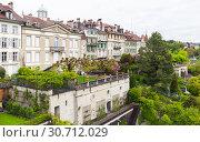 Gardens of Bern, Switzerland (2017 год). Стоковое фото, фотограф EugeneSergeev / Фотобанк Лори